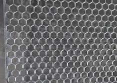 Chapas Perfuradas - Furos Hexagonais de Qualidade Sob Medida