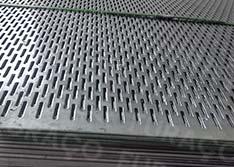 Chapas Perfuradas - Furos Oblongos de Qualidade Sob Medida