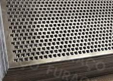 Chapas Perfuradas - Furos Quadrados de Qualidade Sob Medida