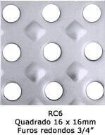 Chapas Recalcadas Sob Medida RC6