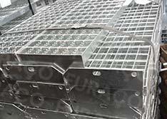 Degraus de Piso Industrial Eletrosoldados Resistentes Sob Medida